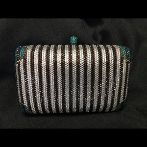 Henri Bendel Crystal Minaudiere Bag